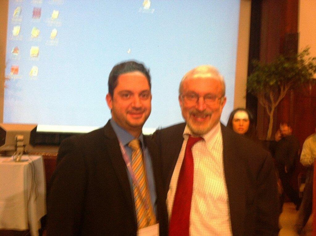 Μαζί με τον κ. Harry Reich, τον πρωτοπότο της λαπαροσκοπικής υστερεκτομής. NYC 2012.